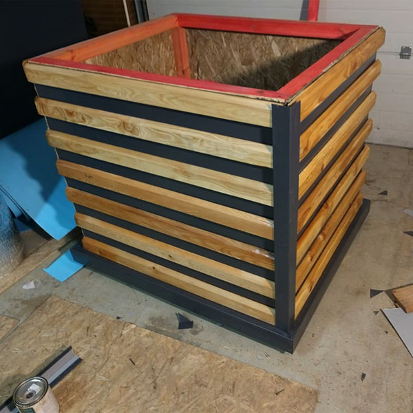 Внешняя отделка утеплённой будки для собаки